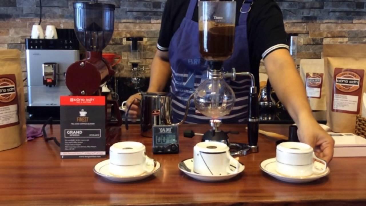 Chi tiết cách phân biệt 3 bộ pha chế cafe cao cấp Syphon Hario của Nhật Bản