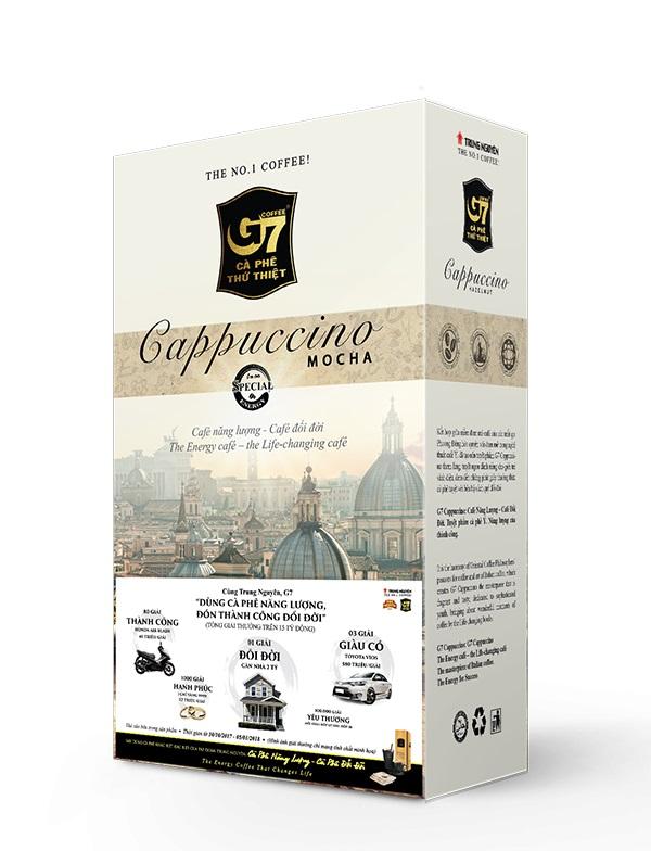 CÀ PHÊ G7 CAPPUCCINO MOCHA – NGON ĐẾN GIỌT CUỐI CÙNG