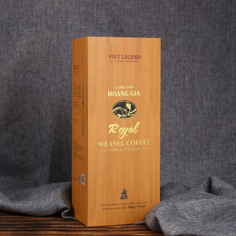 THE WEASEL COFFEE - COFFEE FOR THE ROYAL