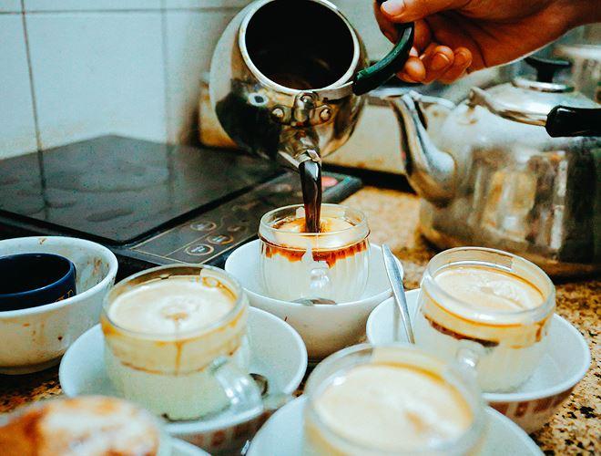 Cà phê trứng – đặc sản giữa lòng Hà Nội