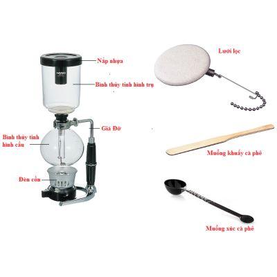 Bình pha cà phê Syphon và 5 dụng cụ pha cà phê phổ biến nhất bằng phương pháp áp suất