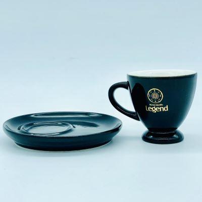 Bộ Tách Đĩa Trung Nguyên Legend Gốm Bát Tràng(Uống cà phê Nóng)