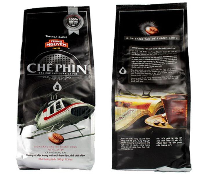 Cà phê Chế phin 4 Trung Nguyên 500gam