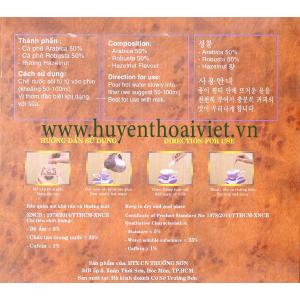 Cà phê CHỒN phối trộn 10%MOCHA( 250gram)