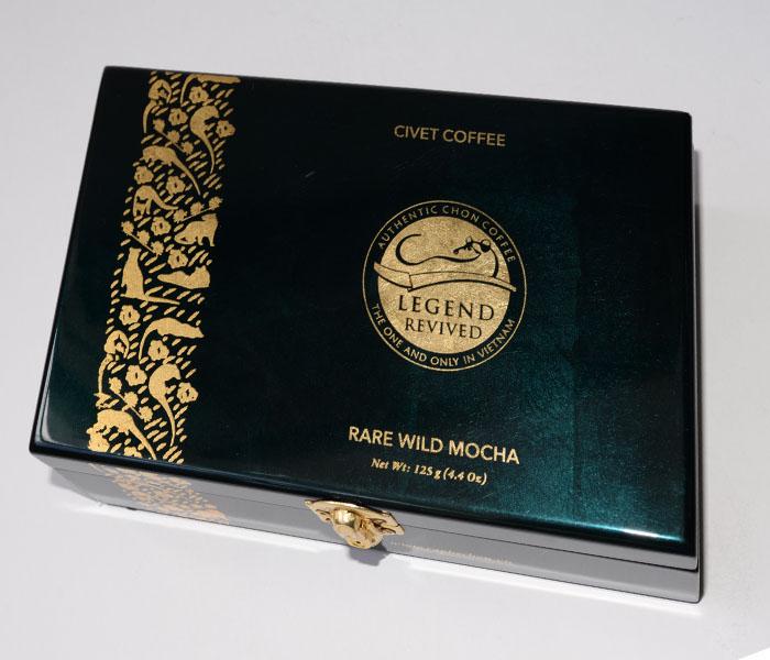 Hộp Cà phê Chồn tự nhiên 125gram