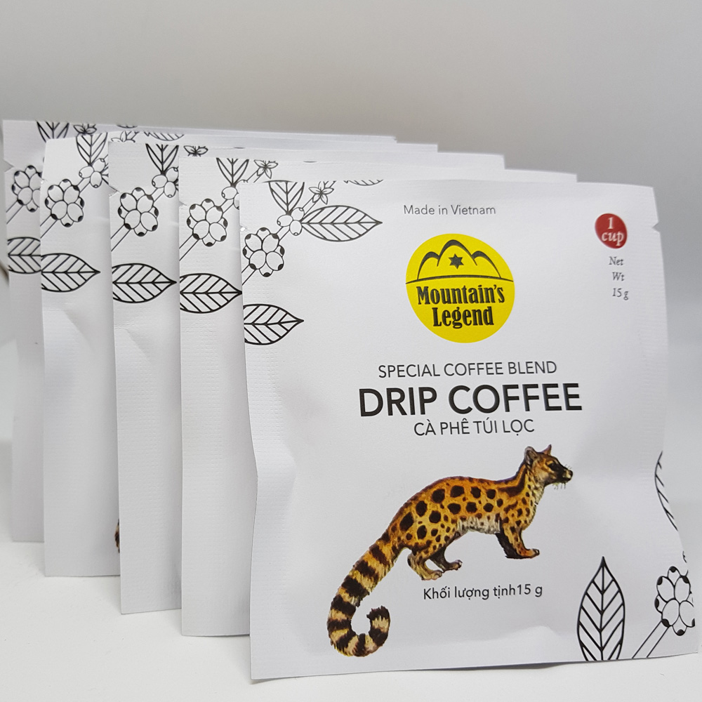 Cà phê Chồn Arabica túi Lọc 75gram