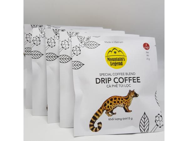Cà phê Chồn túi lọc Mocha 75 gr