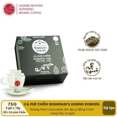 Cà phê Chồn Túi lọc Robusta ( MỚI)