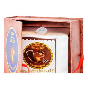 Cà phê Con Sóc pha phin bịch XANH( 500gram)
