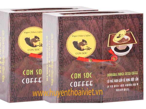 Cà phê Con Sóc ĐÔI ĐEN