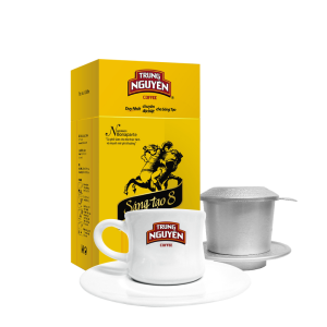 Cà phê Con Sóc phin lọc hộp ĐỎ(TÍM)