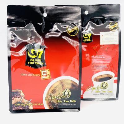 Cà phê G7 hòa tan ĐEN bịch 100 gói Trung Nguyên