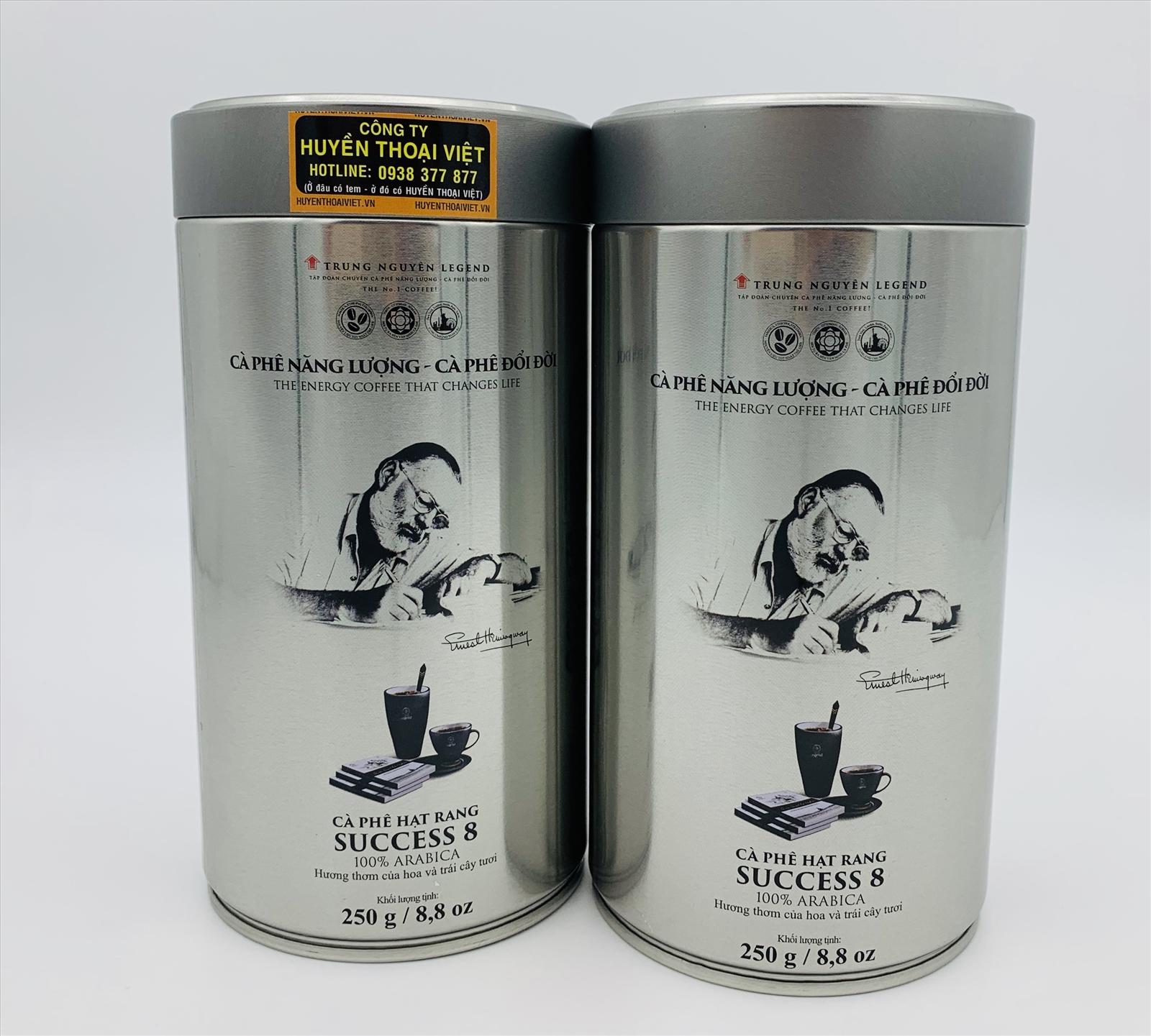 Cà phê hạt Trung Nguyên cao cấp 8 250gram