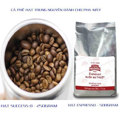 Cà phê hạt dành cho Máy của Trung Nguyên