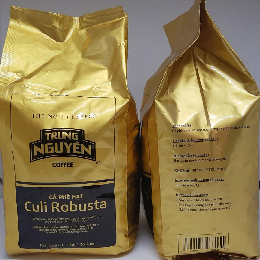 Cà phê hạt Trung Nguyên Culi Robusta, Cà phê Culi Robusta
