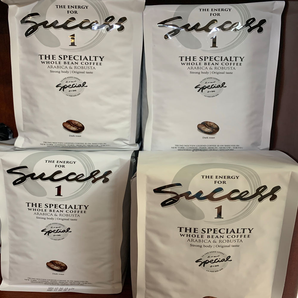 Cà phê hạt Trung Nguyên Success 1