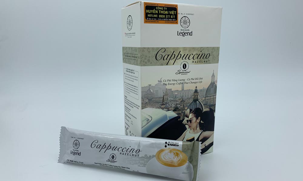Cà phê hòa tan Cappuccino Hazelnut Trung Nguyên