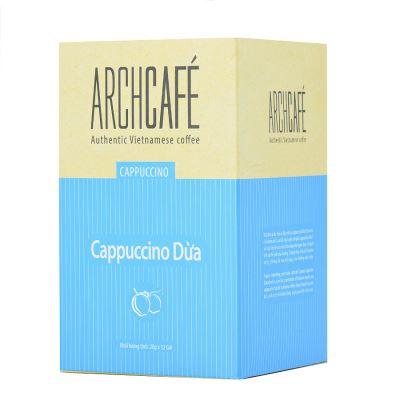 Cà phê hòa tan Cappuccino Dừa - Cafe hoà tan Archcafé