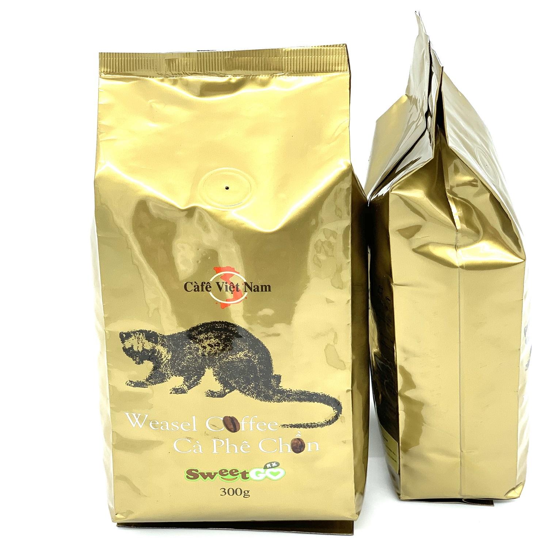 Cà phê hương Chồn 300gam( HẠT):