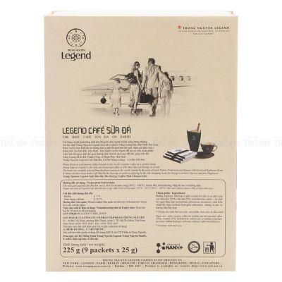 Cà phê Legend sữa đá hộp 9 gói