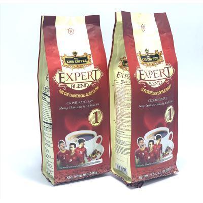 Cà phê rang xay EXPERT BLEND 1 King Coffee( Bịch 500gam)