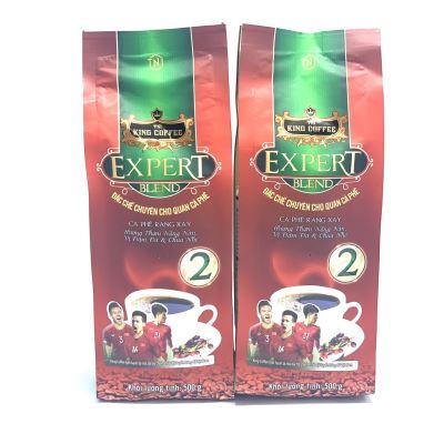 Cà phê Rang Xay EXPERT BLEND 2 King Coffee( Bịch 500gam)