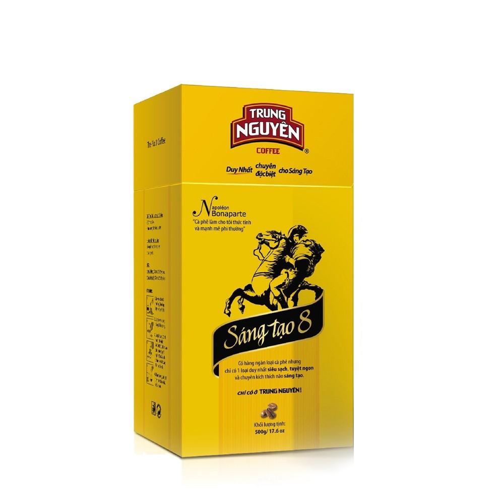 Cà phê sáng tạo 8 Trung Nguyên - Sản xuất cà phê bằng lên men sinh học