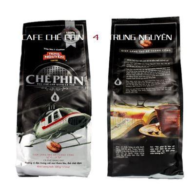 Cà phê Trung Nguyên Chế phin 4 (bịch 500gam)
