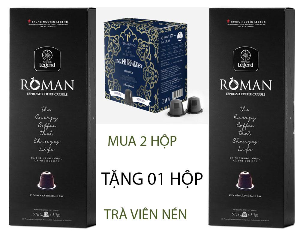 Cà phê Viên nén ROMAN Trung Nguyên