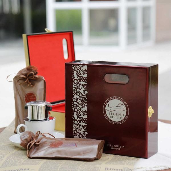 Cà phê chồn Robusta hộp 250gam