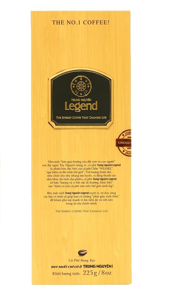 Cà phê Legend- Hộp 225gam cà phê: