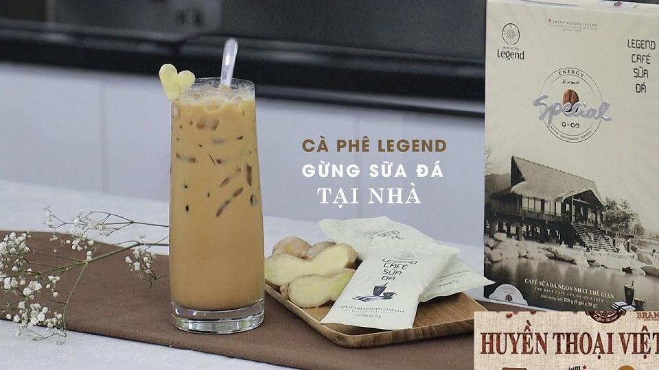 Cafe hòa tan legend sữa đá Trung Nguyên – Cafe sữa đá ngon nhất Việt Nam