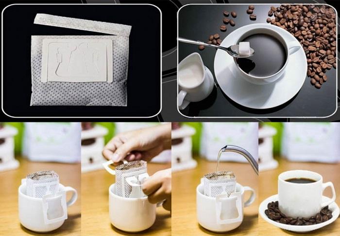Cà phê túi lọc và cà phê pha nguyên chất có gì khác nhau không?