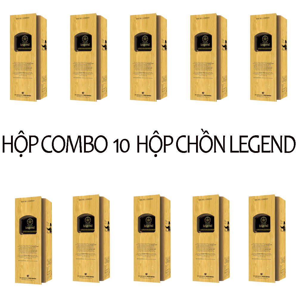 Combo 10 Hộp Legend Trung Nguyên