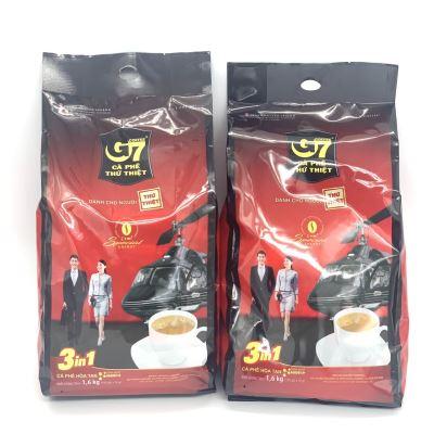 [COMBO 2 BỊCH] Cà Phê Sữa G7 3in1 Trung Nguyên ( Bịch 100 Gói x 16gam).