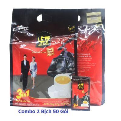 [Combo 2 gói ] Cafe sữa G7 3in1 Trung Nguyên ( 800g / gói )