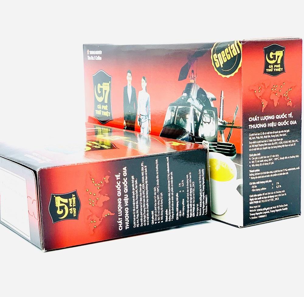 Cà phê sữa G7 hộp 21 gói - Có TEM Trung Nguyên
