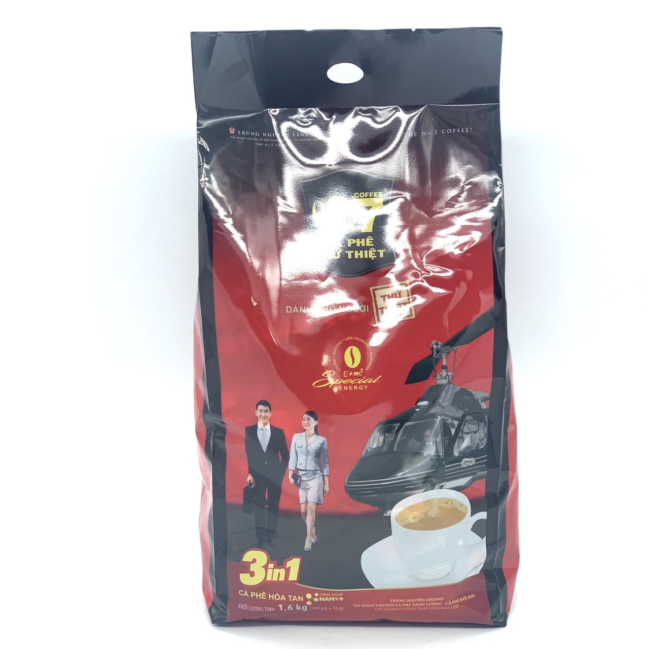Cà phê G7 Trung Nguyên 3in1 Bịch 100 Gói