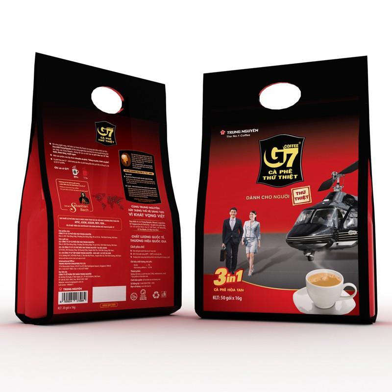 Cà phê G7 3in1 bịch 50 gói