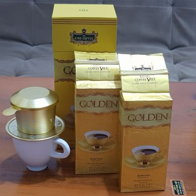 Hộp Quà tặng Cafe King Coffee Golden( 500gam)