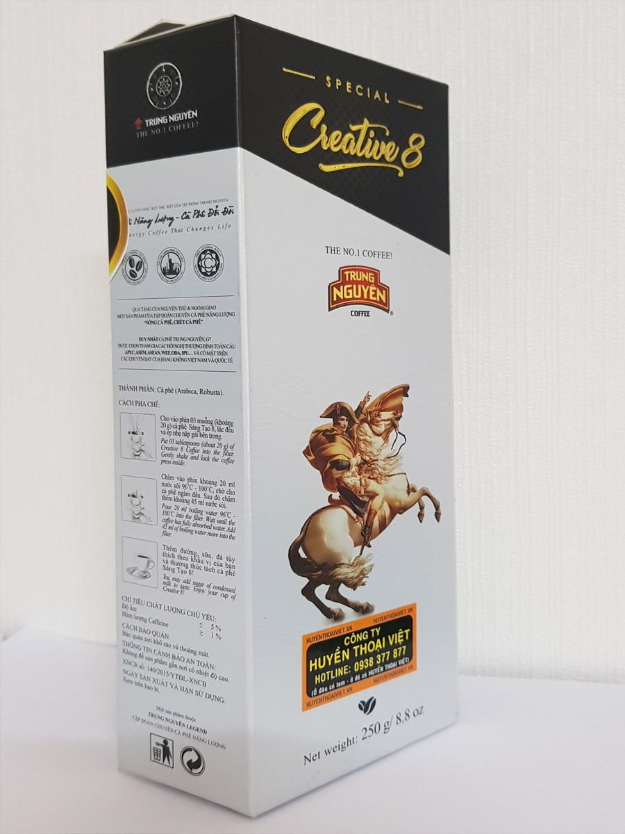 Cà phê Sáng Tạo 8- 250gam Trung Nguyên