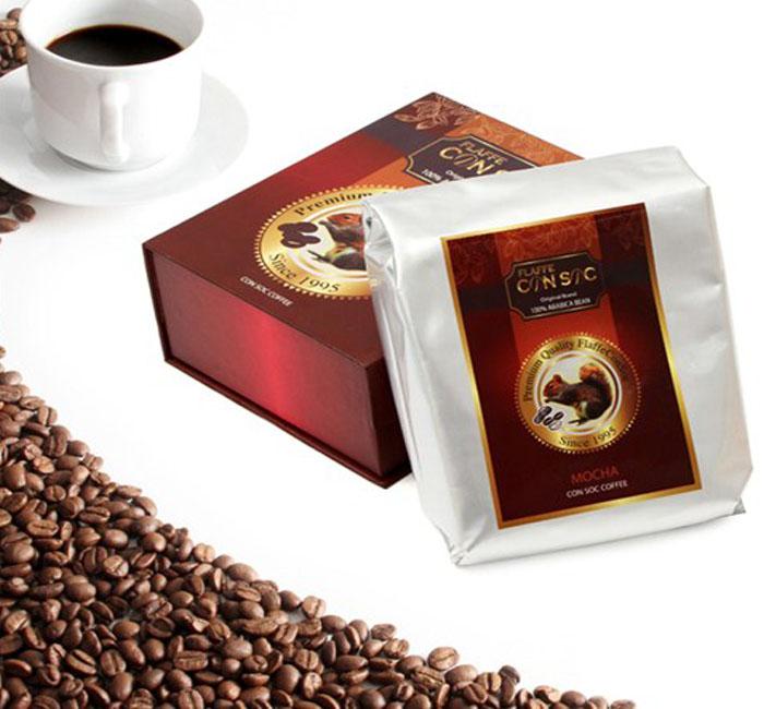 Hộp quà cà phê Con Sóc Flaffee 500gam