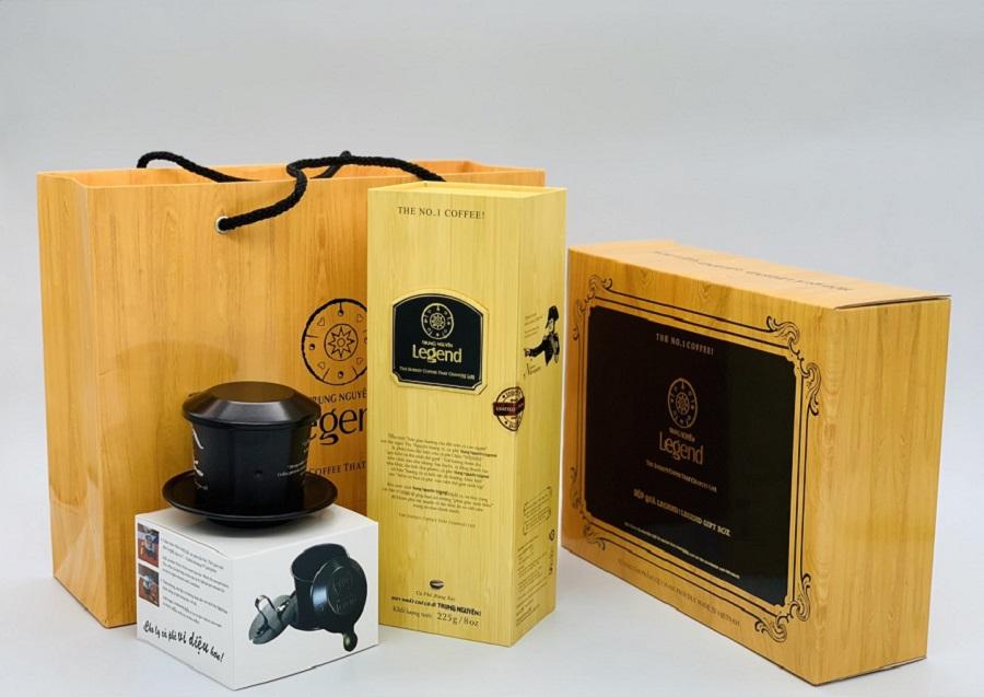 Cà phê Legend-Hộp Quà có Phin Legend