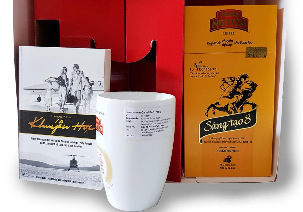 Hộp Quà Tết Cà phê SÁNG TẠO 8