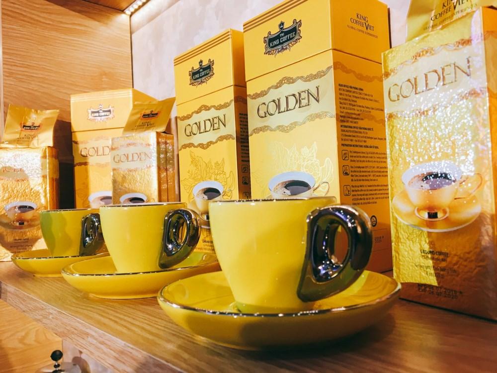 Cà phê King Coffee Golden hộp 450gam