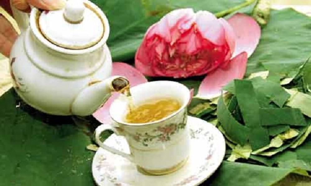 9 lợi ích cho sức khỏe của trà lá sen