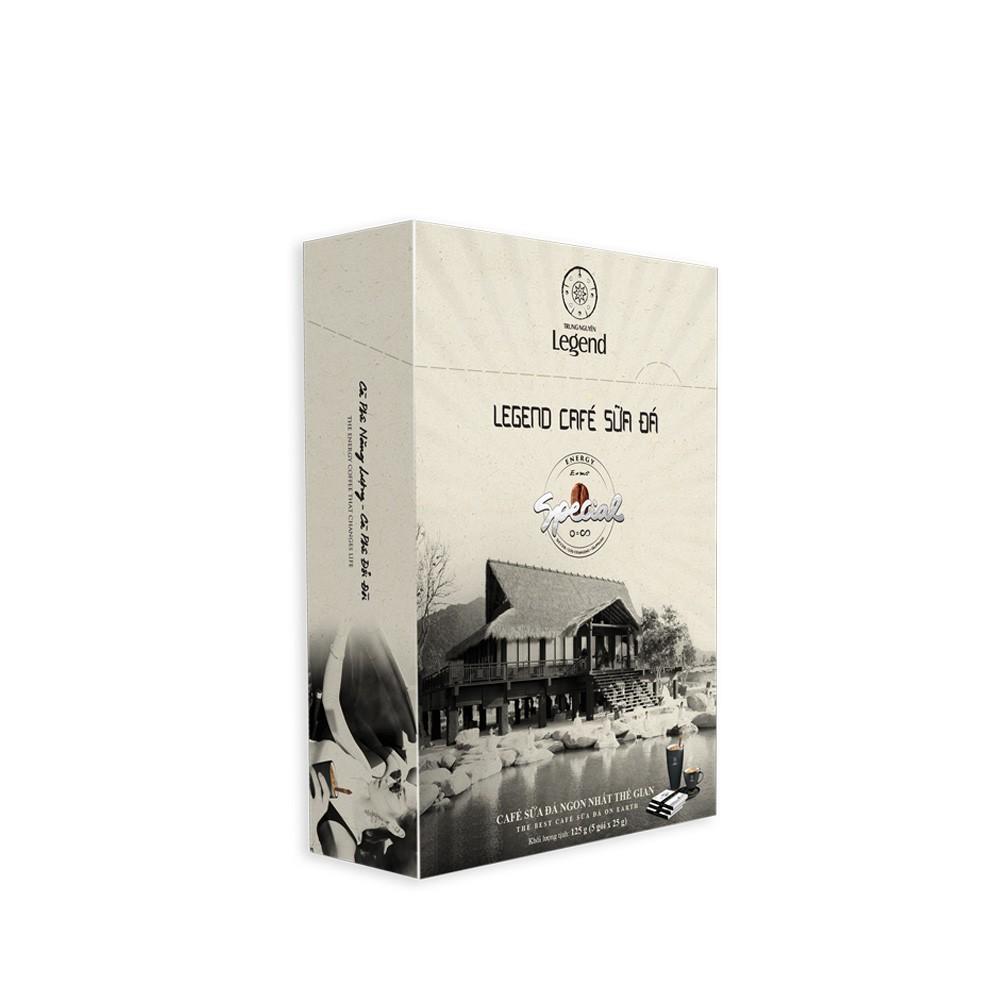 Legend Cà Phê Sữa Đá - Hộp 5 gói