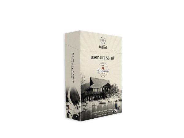 Legend Cafe Sữa Đá Trung Nguyên Hộp 5 gói