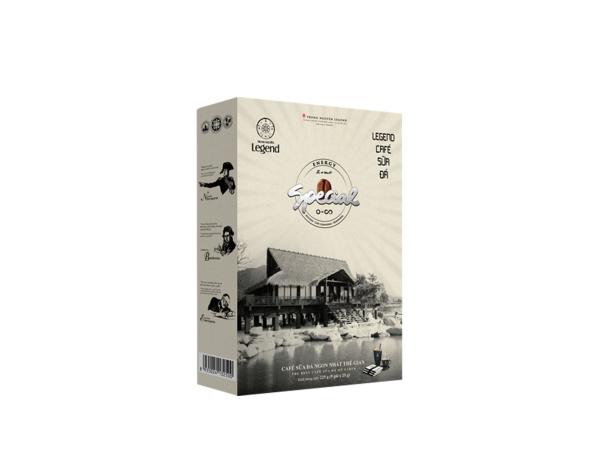 Legend Cà Phê Sữa Đá - Hộp 9 gói