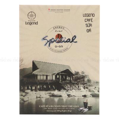 Legend Cà Phê Sữa Đá Trung Nguyên - Hộp 9 gói